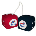 Fremont Die Buffalo Bills Fuzzy Dice