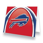 Hunter Manufacturing Buffalo Bills Greeting Card