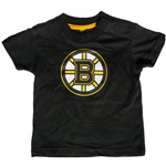 Mighty Mac Boston Bruins Toddler Logo T-Shirt