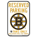 Wincraft Boston Bruins Plastic Reserved Parking Sign
