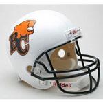 Riddell BC Lions Full Size Deluxe Replica Football Helmet