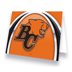 Hunter BC Lions Greeting Card