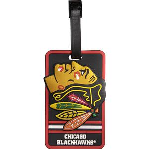 JF Sports Chicago Blackhawks Luggage Tag