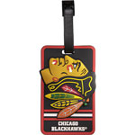JF Sports Chicago Blackhawks Luggage Tag