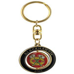 JF Sports Chicago Blackhawks Spinner Key Chain