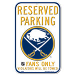 Wincraft Buffalo Sabres Plastic Reserved Parking Sign