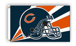 Fremont Die Chicago Bears 3'x5' Flag