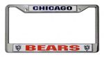 Fremont Die Chicago Bears Metal License Plate Frame