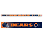 Wincraft Chicago Bears 6 Pack Pencils