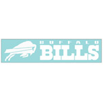 Wincraft Buffalo Bills 4''x17'' Die Cut Decal