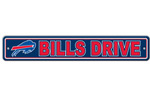 Fremont Die Buffalo Bills Plastic Street Sign