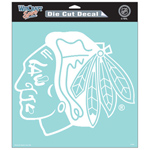 Wincraft Chicago Blackhawks 8''x8''  Die Cut Decal