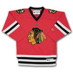Reebok Chicago Blackhawks Infant (12 to 24 months) Replica Home NHL Hockey Jersey