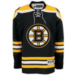 Reebok Boston Bruins Premier Replica Home NHL Hockey Jersey