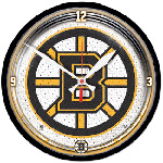 Wincraft Boston Bruins Round Wall Clock