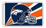 Fremont Die Denver Broncos 3'x5'  Flag