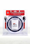 Denver Broncos Infant Dinner Set