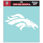 Wincraft Denver Broncos 8''x8'' Die Cut Decal