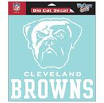 Wincraft Cleveland Browns 8''x8'' Die Cut Decal