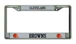 Rico Industries Cleveland Browns Metal License Plate Frame