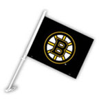 Fremont Die Boston Bruins Double Sided Car Flag