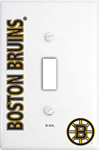 IAX Sports Boston Bruins Single Light Switch Cover