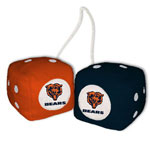 Fremont Die Chicago Bears Fuzzy Dice