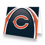 Hunter Manufacturing Chicago Bears Greeting Card