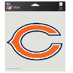 Wincraft Chicago Bears 8''x8'' Color Die Cut Decal