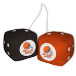 Fremont Die Cleveland Browns Fuzzy Dice