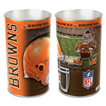 Wincraft Cleveland Browns Metal Garbage Can