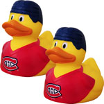 Montreal Canadiens 2-Pack Rubber Duck by JF Sports