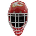 Bulova Calgary Flames Quartz LCD Goalie Mask Alarm Clock