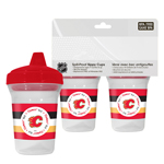 First Time Fan Calgary Flames 2-Pack 5oz. Sippy Cups