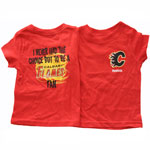 Reebok Calgary Flames Infant I Never Had The Choice But To Be A Calgary Flames Fan Tee