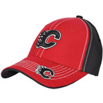 Twins '47 Calgary Flames Youth Kade Stretch Fit Cap