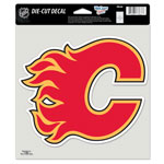 Wincraft Calgary Flames 8''x8'' Color Die Cut Decal