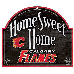 Wincraft Calgary Flames Home Sweet Home Wood Sign