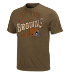 VF Imagewear Cleveland Browns Line to Gain T-Shirt