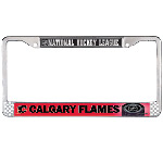 Wincraft Calgary Flames Metal License Plate Frame