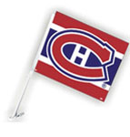 Fremont Die Montreal Canadiens Double Sided Car Flag