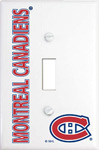 IAX Sports Montreal Canadiens Single Light Switch Cover