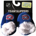 Forever Collectibles Montreal Canadiens Baby Bootie Slippers
