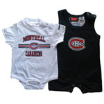 Reebok Montreal Canadiens Infant 2-Piece Romper Set
