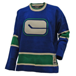 Reebok by Roger Edwards Vancouver Canucks 1972-73 Heritage Knit Sweater