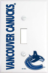 IAX Sports Vancouver Canucks Single Light Switch Cover