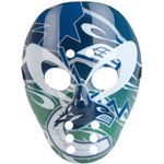 Warface By Design Vancouver Canucks Goalie Mask