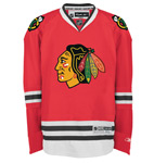 Reebok Chicago Blackhawks Youth Premier Replica Home NHL Hockey Jersey