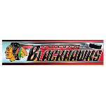 Wincraft Chicago Blackhawks Bumper Sticker