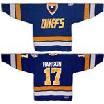 Charlestown Chiefs Steve Hanson Away Jersey
